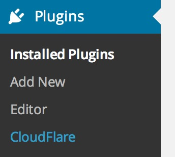 CloudFlare CDN Plugin